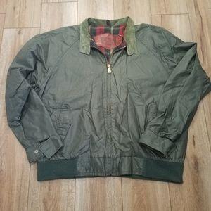 VTG Woolrich Green Lined Bomber Jacket